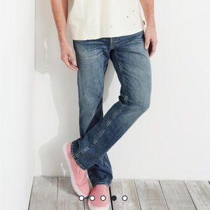 NEW Men's Hollister Straight Leg Jeans 32 x 32